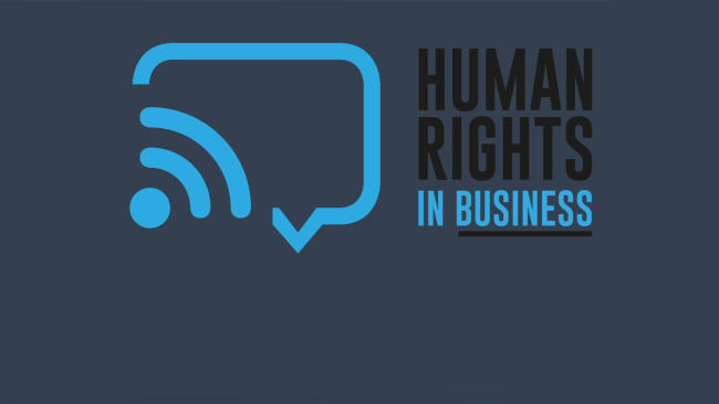 [LIVE] HUMAN RIGHTS IN BUSINESS